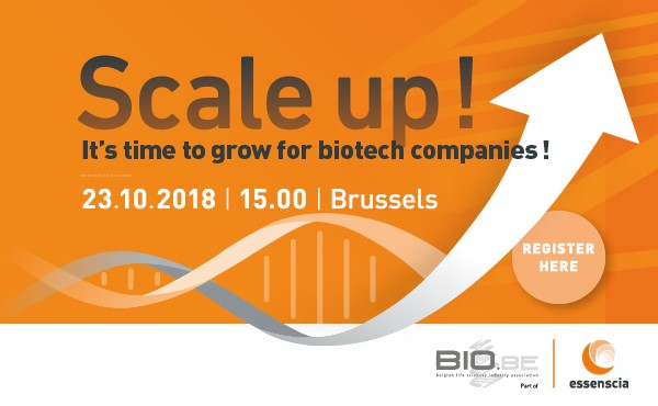 bio.be: Scale up! It's time to grow for biotech companies!